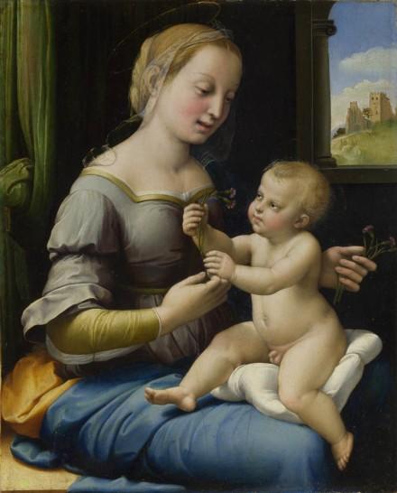 The Madonna of the Pinks ('La Madonna dei Garofani')